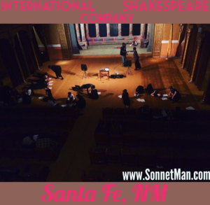 #SantaFe sonneteers - The Sonnet Man